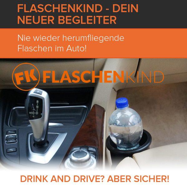 Auto-Flaschenhalter